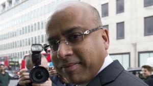Sanjeev Gupta is pictured here in this file photo. (JUSTIN TALLIS / AFP)