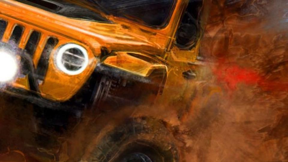 Jeep Moab Easter Safari concept teaser image (Jeep)