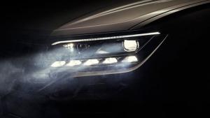 New third-generation VW Touareg teaser image (Volkswagen)
