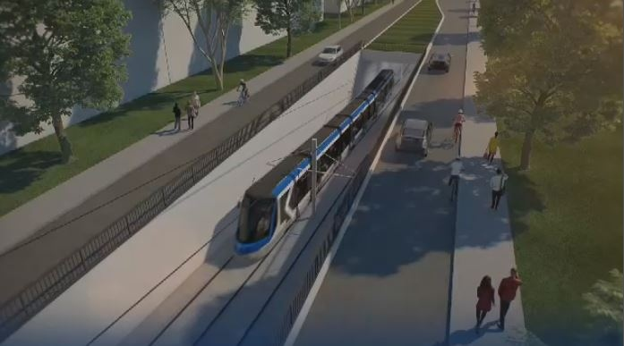 Pink line: Montreal set to get new tramway in Lachine, Southwest boroughs
