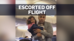 Airline gets backlash after family taken off plane
