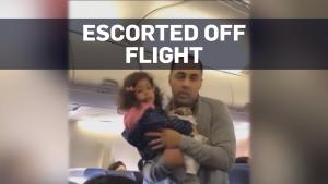 Airline gets backlash after family taken off plane