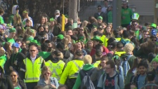 Final preps for St. Patrick's Day in Waterloo