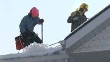 City deals with glut of snow