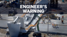 Hear voicemail from engineer warning of cracking