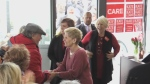 Kathleen Wynne comes to London to support Liberal candidate Kate Graham.