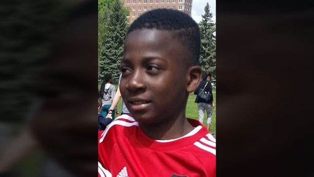 Ariel Jeffrey Kouakou was last seen at noon on Monday, March 12, 2018, when he left home to go to a friend's house