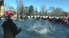 Polar Plunge for Special Olympics in London