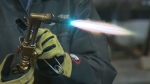 Students from a number of Calgary area high schools took part in a welding rodeo on Saturday.
