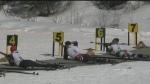 Skiing and Shooting