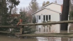Ontario has announced it will be stepping up to help residents affected by flooding in parts of Adjala-Tosorontio. (March 17, 2018)