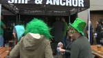 St. Patrick's Day observed in Calgary