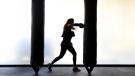 Saudi gym owner Halah Alhamrani, 41, trains in her gym centre in the coastal city of Jeddah on February 19, 2018. (AMER HILABI / AFP)