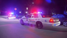 Burnaby RCMP respond to a call about a robbery and a stabbing near Edmonds SkyTrain station on March 18, 2018.