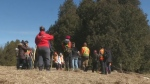 Volunteers continue searching for Kaden Young