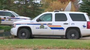 RCMP vehicle.