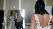 On Sunday, a free dress fitting event was held at The Forks. (Source: Daniel Timmerman/CTV News)