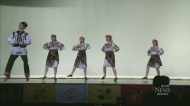 Ukranian dancers perform in Regina