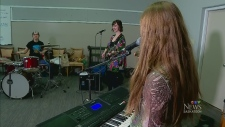Musicians learn new instrument at Girls Rock Saska