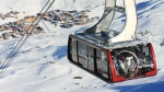 The Caron cable car at Val Thorens (C.Cattin OT Val Thorens)