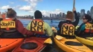 Seattle residents join pipeline protest