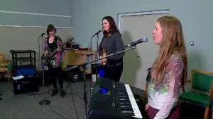 Musicians at Girls Rock Saskatoon