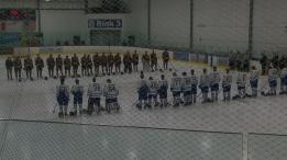 Memorial held for teen hockey prospect slain in Aj
