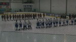 Memorial held for teen hockey prospect slain in Aj