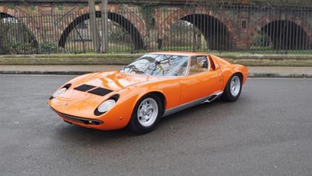 1967 Lamborghini Miura to SV Specification (Newspress / Coys)