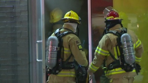 firefighters, Blainville