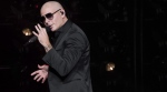 Pitbull performs at Madison Square Garden in New York, on June 30, 2017. (Charles Sykes / Invision / AP)