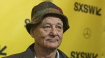 Bill Murray arrives for the North American premiere of 'Isle of Dogs' during the South by Southwest Film Festival on March 17, 2018. (Jack Plunkett / Invision / AP)