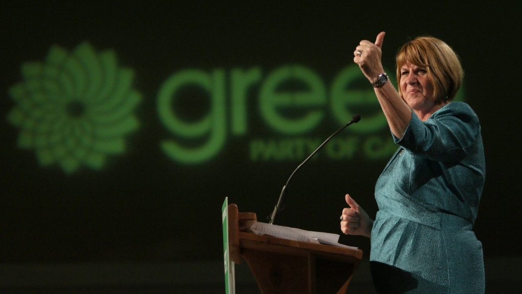 Elizabeth May resigning as Green leader, names Maritimer Jo-Ann Roberts as successor