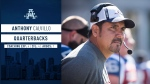 Anthony Calvillo has reunited with Marc Trestman as quarterback coach of the Toronto Argonauts