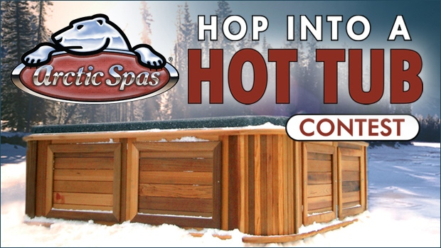 Hop Into a Hot Tub Contest