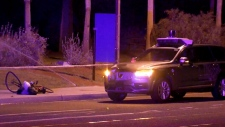 CTV News Channel: Self-driving Uber car hits woman