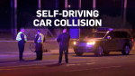 self-driving car collision