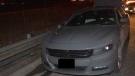 Dodge Charger and occupants sought in abduction investigation. (Toronto Police Service)