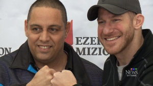 Stuntman Stu meets bone marrow donor