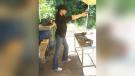 This 2009 photo shows soon-to-be duchess Meghan Markle holding a gun at a range in Pitt Meadows. (The Sun)