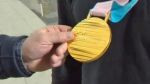 Brian McKeever - Paralympic medal