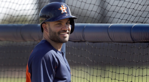 Houston Astros infielder Jose Altuve