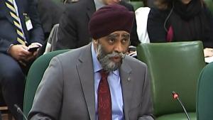 LIVE1: Defence Minister Harjit Sajjan testifies
