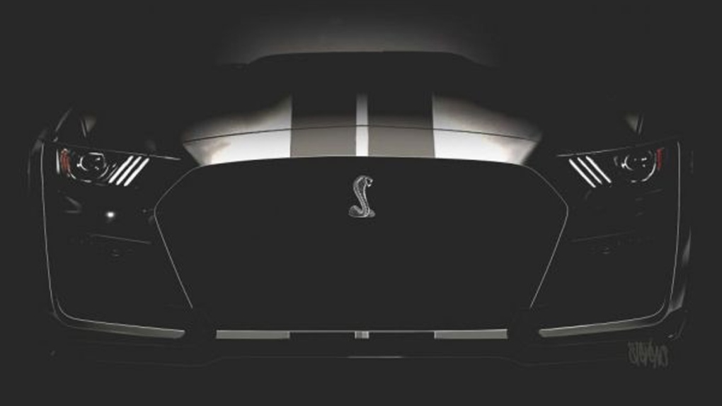 2019 Shelby Mustang GT500 teaser image
