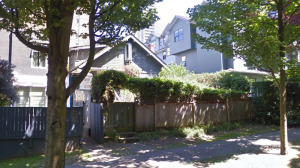A home that's listed for $6.8 million in Vancouver's West End was built in 1922, making it 96 years old. (Google Maps)