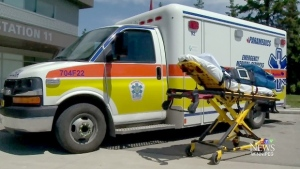 The protocol gives paramedics another option to help see non-medical needs of people are met. (File image)