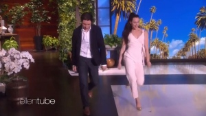 Extended: Tessa and Scott appear on 'Ellen'