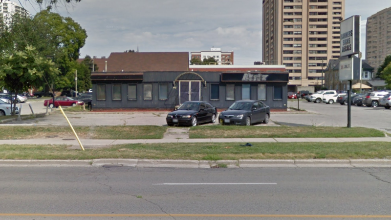 372 York St. London Ont., the proposed supervised consumption facility. (Google Maps)