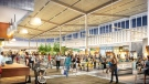 Real estate developer Ivanhoé Cambridge released images showing part of the interior of the Premium Outlet Collection at the Edmonton International Airport. Courtesy: Ivanhoé Cambridge