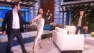 Extended: Tessa Virtue and Scott Moir on Ellen